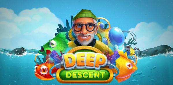 Upptäck Havets Djup I Relax Gaming Senaste Titel Deep Descent