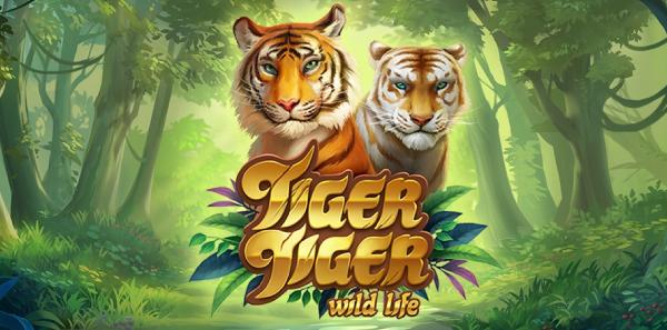 Tiger Tiger är Yggdrasils Senaste Snygga Slot